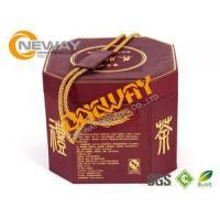 Buy cheap Colorful Printed Tea Packaging Boxes / Recycled Gift Wrapping Boxes from wholesalers