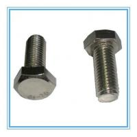 Buy cheap DIN933 Stainless Steel Hexagon Head Bolt for Machine from wholesalers