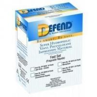 Buy cheap Defend VPS Impression Material, heavy body, fast set, 4 x 50ml cartridges from wholesalers