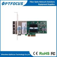 Buy cheap Intel Ethernet PCI Express Network Card 1000 Mbps 4 Quad Port Server Adapter from wholesalers
