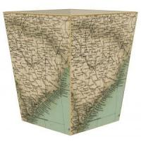 Buy cheap South Carolina Antique Map Wastepaper Basket from wholesalers