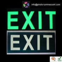 Buy cheap Photoluminescent Safety Sign from wholesalers
