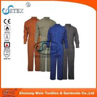 Buy cheap Safety workwear EN1149 wholesale flame retardant cotton coverall for workers from wholesalers