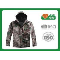 Buy cheap Camo Color Durable Winter Hunting Jacket Fire Retardant For Military Uniform from wholesalers