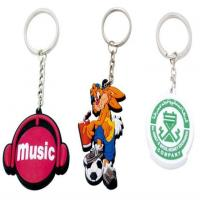 Buy cheap Customized Promotion Gifts 2D PVC Keychain with Lower Price from wholesalers