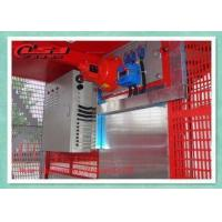 Buy cheap 2000KG Capacity Personnel And Materials Hoist Double Cages 34m/Min Speed from wholesalers