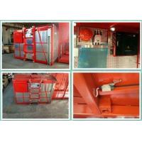 Buy cheap Adjustable Speed Building Hoist Material Lift For Construction Overload Protect from wholesalers