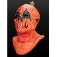 Buy cheap Halloween Mask Gmasking Evil Mr.Halloween Pumpkin Head Mask Costume from wholesalers
