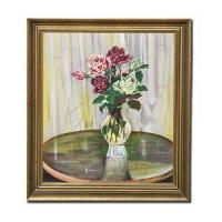 Buy cheap 100% Hand Painted Floral Oil Painting Flowers from wholesalers
