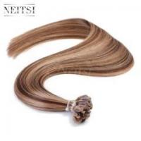 Buy cheap Pre Bonded Hair Neitsi 16 50g 1g/s Pre Bonded U Nail Tip Fusion Human Hair Extensions P4/27# from wholesalers