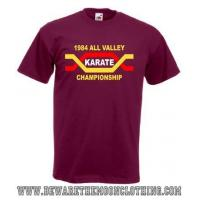 Buy cheap The Karate Kid All Valley Karate Championship Retro Movie T Shirt / Hoodie product
