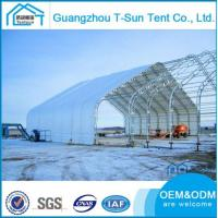 Buy cheap Steel Frame Tent Hot Sales Hard Press Galvanized Steel Industry Construction Hanger Storage Tent from wholesalers