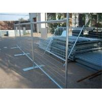 Buy cheap PVC Coated Wire Hot Galvanized Mild Steel Wire Welded Temporary Fencing from wholesalers