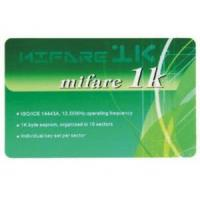 Buy cheap RFID card CM-008Mifare 1k cards from wholesalers