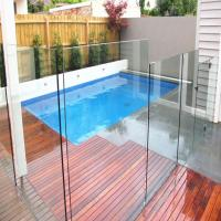 Buy cheap Tempered glass pool fencing with AS/NZS2208:1996, BS6206, EN12150 certificate product