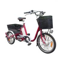Buy cheap Steel Frame Electric Three-Wheeled Leisure Tricycle Bike from wholesalers
