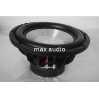 Buy cheap High Roll Rubber Surround High Power Subwoofer , Competition 10 Inch Subwoofer product