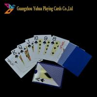 Buy cheap 0.3mm Thickness Plastic Playing Cards from wholesalers