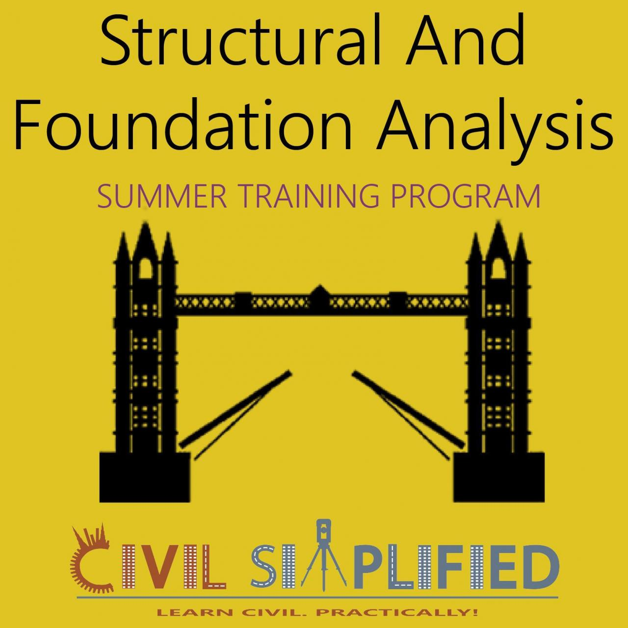 Buy cheap Summer Training Program in Civil Engineering - Structural and Foundation Analysis from wholesalers