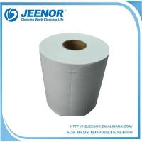 Buy cheap White Embossed Pet And Wp Nonwoven Wipes from wholesalers