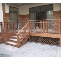Buy cheap Wooden fence | Wooden railings The courtyard anticorrosive wood floor from wholesalers