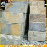 Buy cheap Rusty Yellow Slate Tiles product