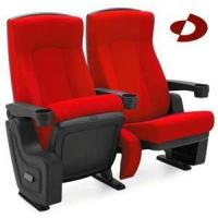 Buy cheap Hot Selling PU Leather Movable Arm Moive Hall Cinema Seating with High Performance from wholesalers
