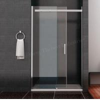 Buy cheap Incredible Clean Line Design Framless Sliding Shower Door Solid Square Stainless Hanlde from wholesalers
