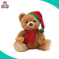 Buy cheap Fashion Decorative Christmas Bear Plush Toy Stuffed Teddy Bear Toys for Christmas Day from wholesalers