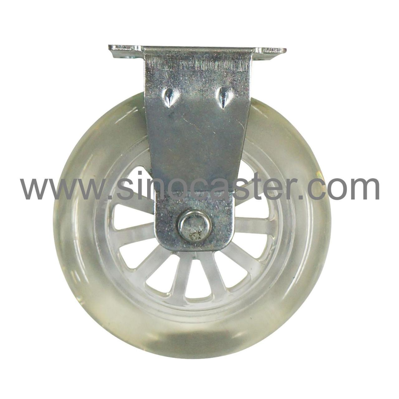 Buy cheap Rigid casters R02-P-100 from wholesalers