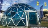 Buy cheap Construction & Real Estate Dia. 6m Geodesic Dome Greenhouse  Glass Domes from wholesalers