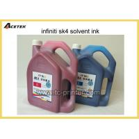 Buy cheap No Clogged Head Infiniti Solvent Ink MSDS SK4 Ink from wholesalers