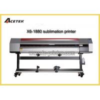 Buy cheap X6-1880S 1.8m Direct To Fabric Printing Plotter Printer Sublimation from wholesalers