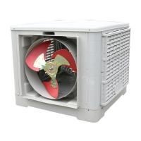 Buy cheap 1.1KW Side Discharge Industrial Air Cooler from wholesalers