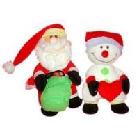 Buy cheap Santa Claus and Snowman Teddy Bear from wholesalers