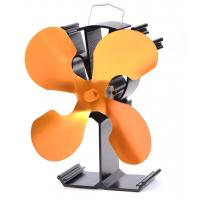 Buy cheap wood burner stove fan-4 blade in gold from wholesalers