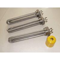 Buy cheap 1 1/2 Inch Screw Plug Industrial Stainless Steel Immersion Water Heater Element For Tank from wholesalers