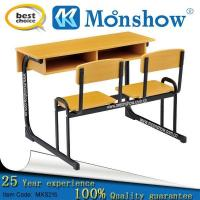 Buy cheap 2 Person Primary And Middle School Laminate Wood Timber Desk Furniture from wholesalers