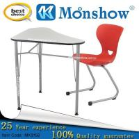 Buy cheap Wholesale School Desk With Chair Of School Furniture,zhejiang MOONSHOW from wholesalers