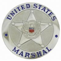 Buy cheap Customised Silver US Marshal Coins Military Commad Coins Navy Custom MC-008 from wholesalers