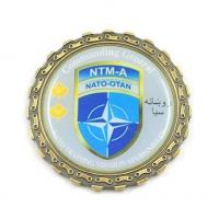 Buy cheap Design Your Own Challenge Coins Custom Printed Metal Commanders Coins MC-010 from wholesalers