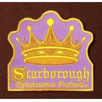 Buy cheap Fashion Purple Embroidered Badges Iron on for Girls Custom Logo Embroidered Patches EB-009 from wholesalers