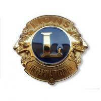 Buy cheap High End Customised Lions Brand Logo Lapel Badges Manufacturer PB-032 product