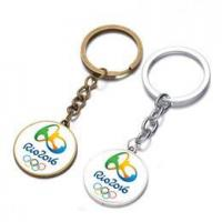 Buy cheap Brazil Rio 2016 Olypmics Key Chains Memorable Silver Gold Souvenir Keyrings SK-039 from wholesalers