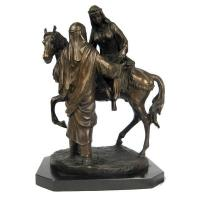 Buy cheap Arabian Horse & Figures Bronze Sculpture On Marble Base 47cm[455022] from wholesalers