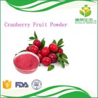 Buy cheap China Supplier Herbal Extract Cranberry Fruit Juice Powder Improve Eyesight from wholesalers