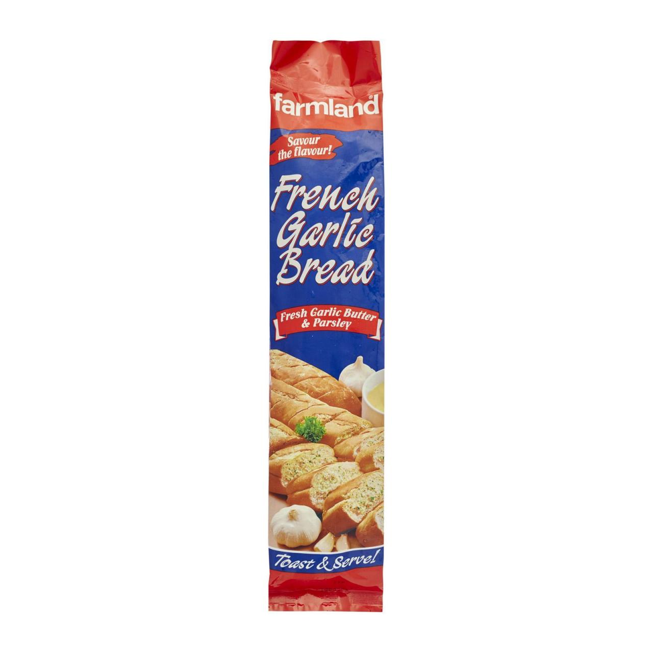 Buy cheap Chilled Item Farmland French Garlic Bread 24 x 250g from wholesalers