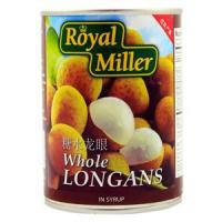 Buy cheap Canned Fruits Longan in Syrup - Royal Miller 24x565g from wholesalers