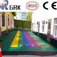 Buy cheap EPDM floor OUTDOOR RUBBER FLOOR/CHILDREN PLAYGROUND POURED RUBBER FLOORING from wholesalers