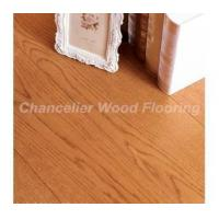 Buy cheap Lacquered oak gunstock engineered wood flooring from wholesalers